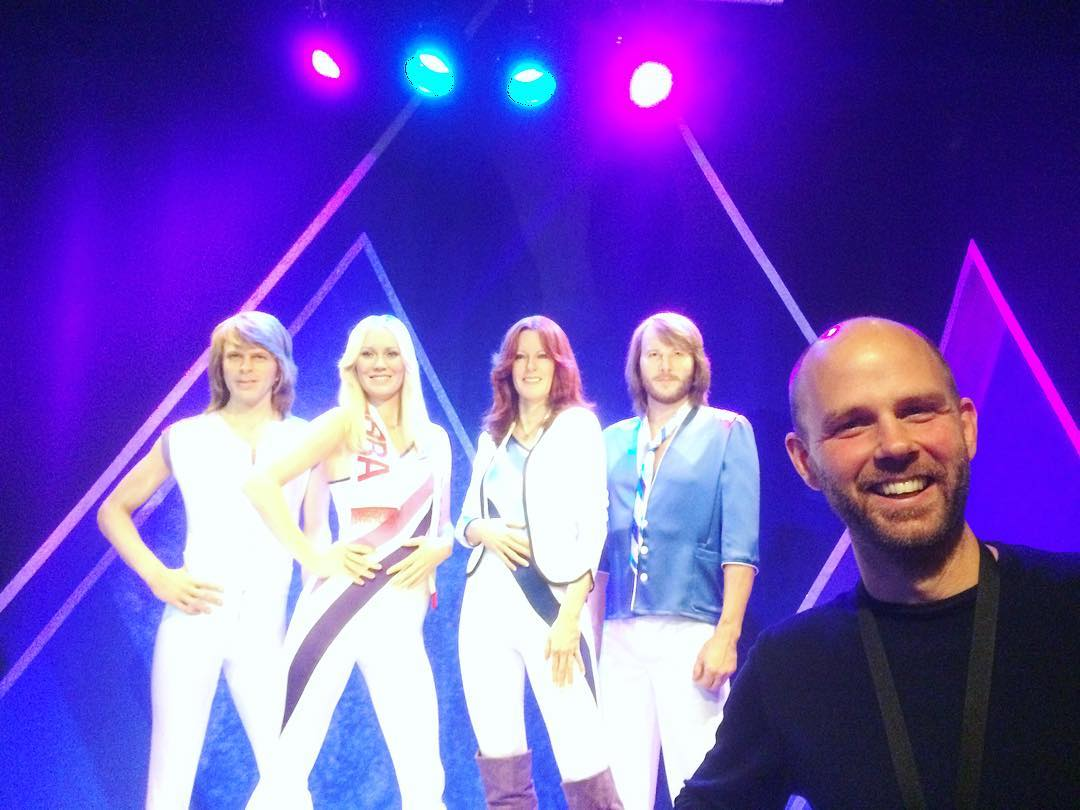 The Fifth Member of ABBA ? #abba #abbathemuseum #music
