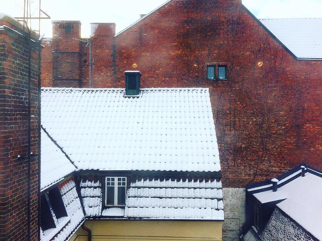 Så kom snön även till Skåne ... ❄️ #snow #winter #sweden #scania